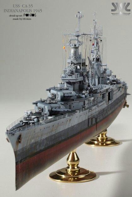 USS Indianapolis academy premium édition 1/350 Termine le29 /03/18 Dff5d510