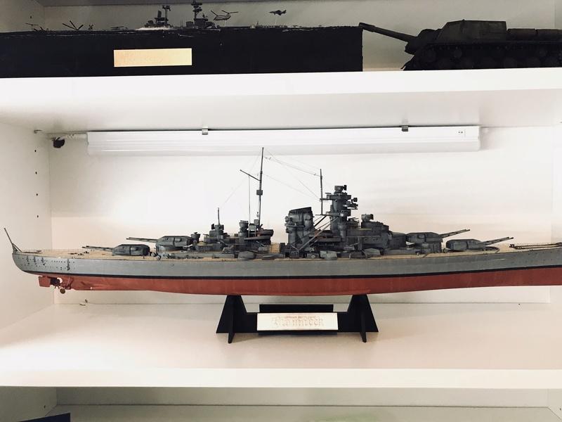 Bismarck 1/350 tamiya Ee2b4910