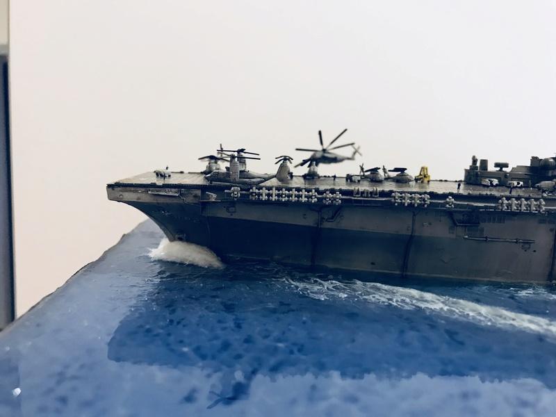 USS Essex Hobby boss 1/700 Eea88710