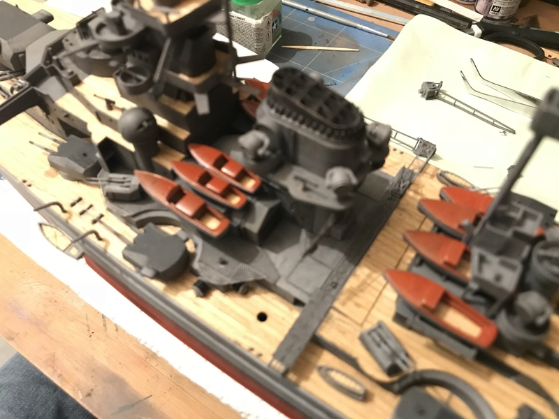 Bismarck 1/350 tamiya UP le 30/01/2018 montage terminé  - Page 2 F79bc710