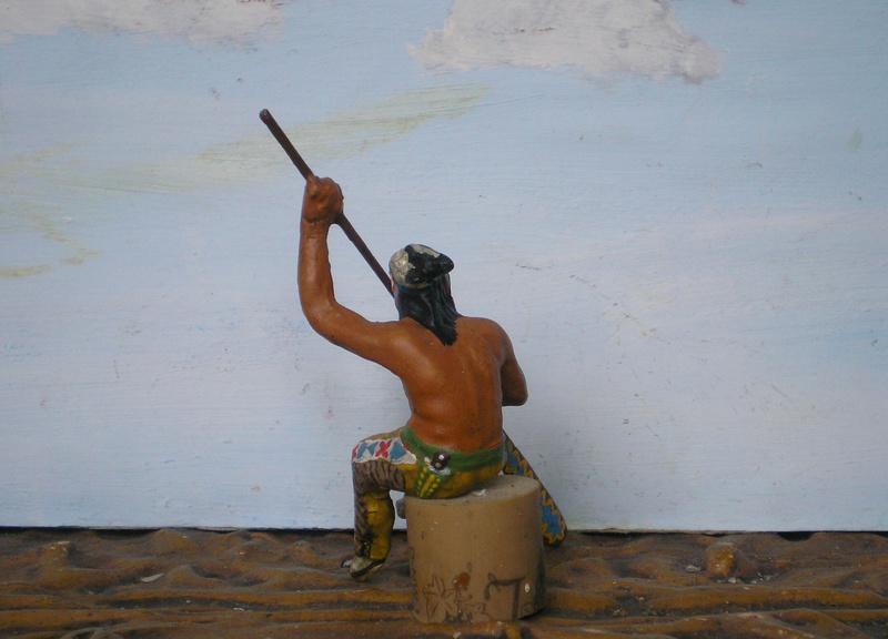 Bemalungen, Umbauten, Modellierungen – neue Indianer für meine Dioramen - Seite 14 015g2h10