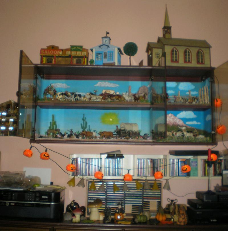 Gestaltung eines herbstlichen Dioramas zur Wohnungs-Dekoration 20170910