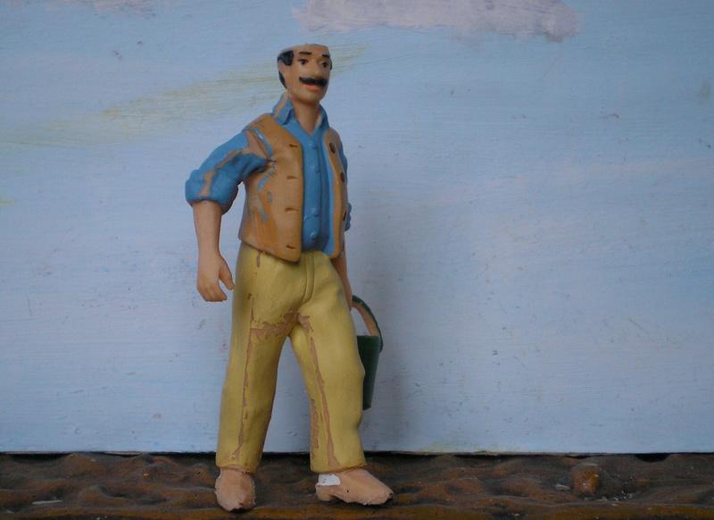 Bemalungen, Umbauten, Modellierungen - neue Cowboys für meine Dioramen - Seite 11 277b3b10