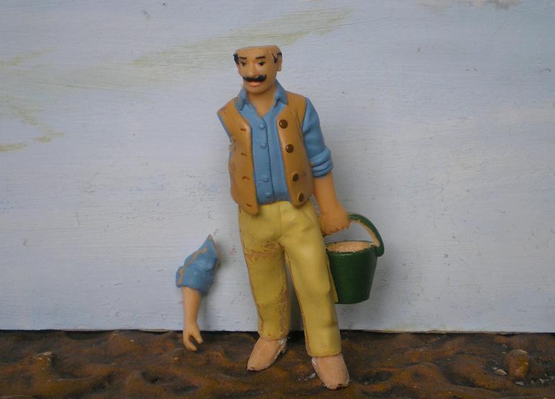 Bemalungen, Umbauten, Modellierungen - neue Cowboys für meine Dioramen - Seite 10 277c1b12