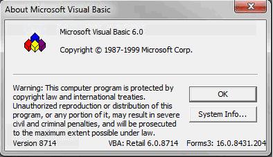 Version VBA / catia Vba6010
