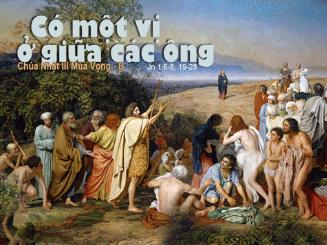 Chúa Nhật III Mùa Vọng Năm B Cn-3-m13