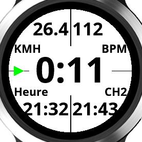 Gérez vos temps de CH sur montres Garmin Captur10