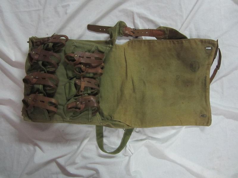 Musette porte grenades modèle 1916 en TTBE  MAR4 - ESC - A CLÔTURER MERCI Img_6339
