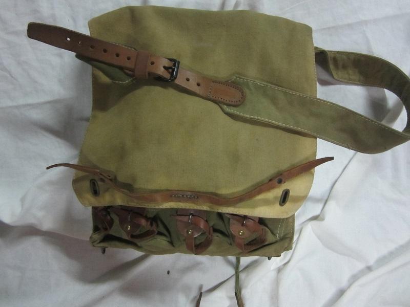 Musette porte grenades modèle 1916 en TTBE  MAR4 - ESC - A CLÔTURER MERCI Img_6342