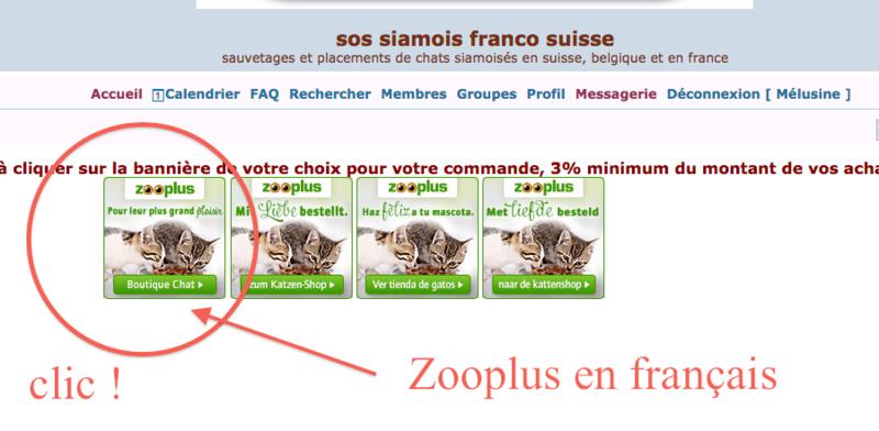Commandez par la bannière Zooplus ! Captur20