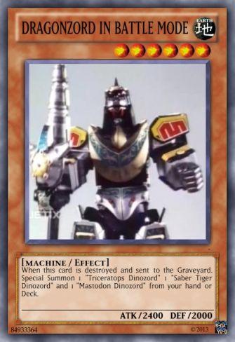 Η δική μου Mighty Morphin Power Rangers τράπουλα Dragon14