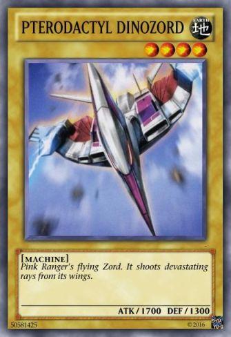 Η δική μου Mighty Morphin Power Rangers τράπουλα Pterod11