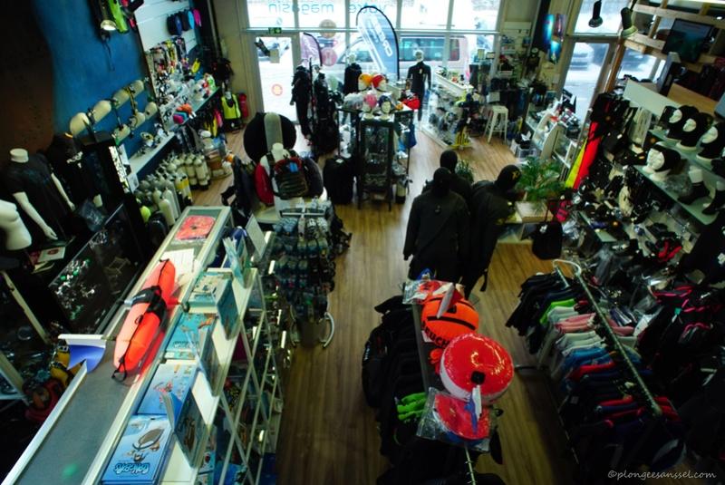 magasin-école de plongée PLONGEE.CH à Puidoux (canton de Vaud, Suisse) Dsc04710