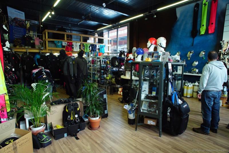 magasin-école de plongée PLONGEE.CH à Puidoux (canton de Vaud, Suisse) Dsc04713