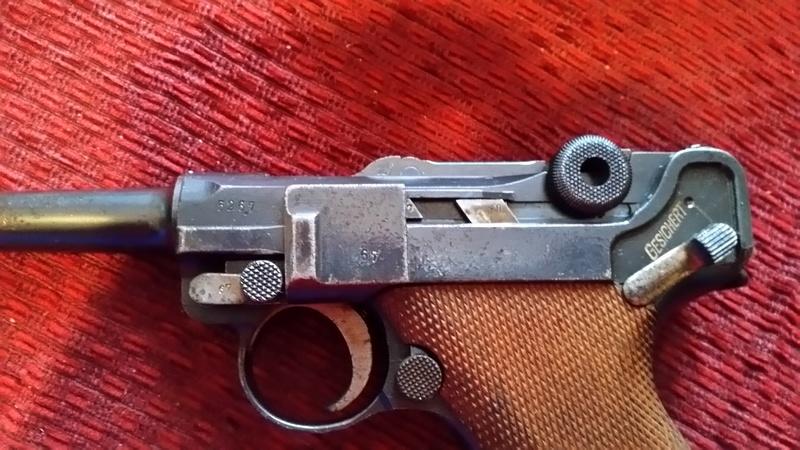 Luger P08 de 1918 20180117