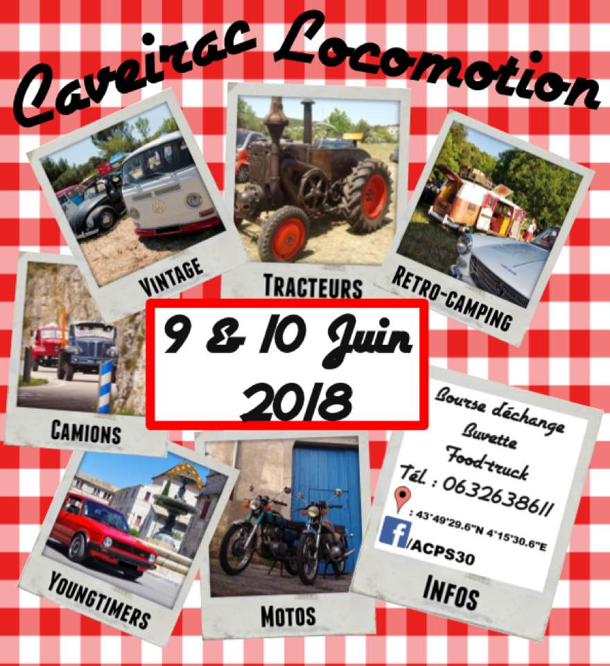 Caveirac Locomotion, rassemblement annuel 6eme édition 29213810