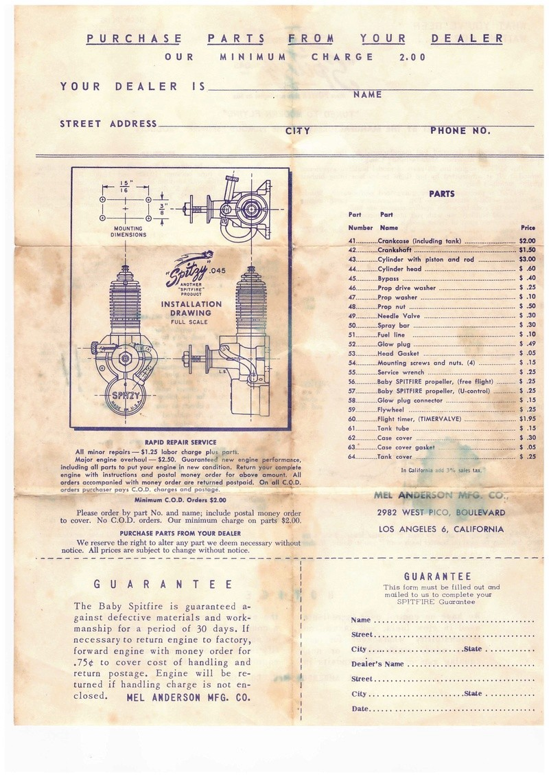 Spitzy And McCoy Baby Mac Instruction Sheets Spitzy10