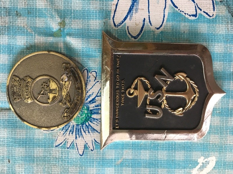 some Australian and Us Challenge coins. Img_0910