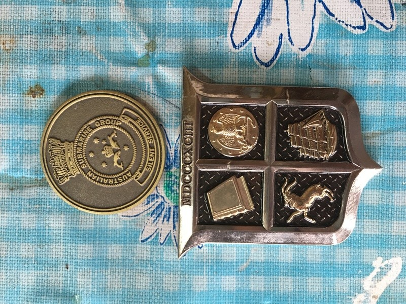some Australian and Us Challenge coins. Img_0911