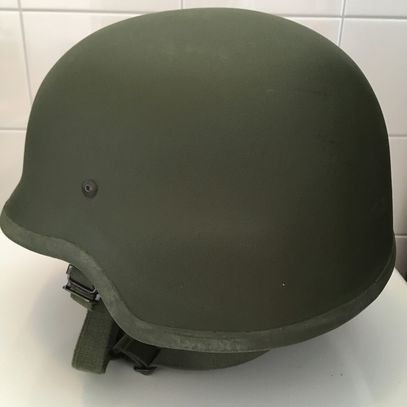 Dutch Army Kevlar helmet Img_2714