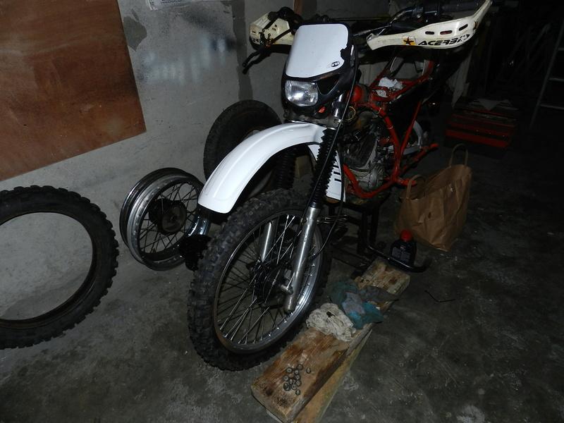 La MX 175 cc de Gérald  - Page 2 Dscn7628