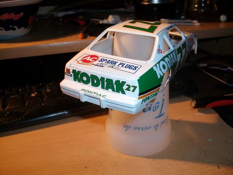 """NASCAR #27 KODIAC Pontiac et #72 RAMADA Buick """"Rusty Wallace"""" 14195110"""
