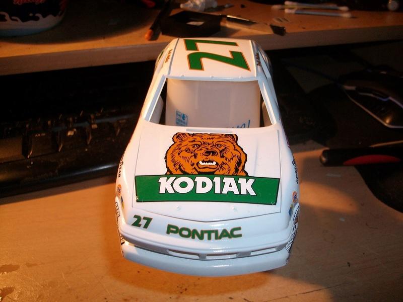 """NASCAR #27 KODIAC Pontiac et #72 RAMADA Buick """"Rusty Wallace"""" 14231810"""
