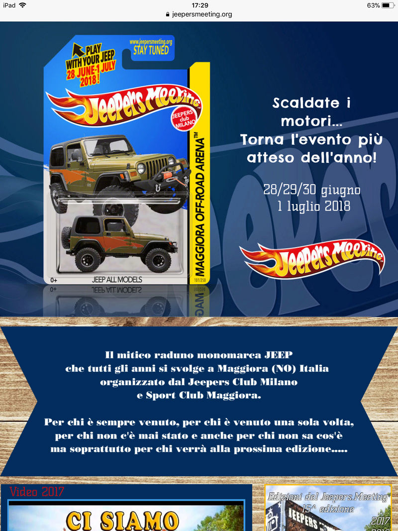 Jeepers Meeting 2018 Maggiora C0bb1e10