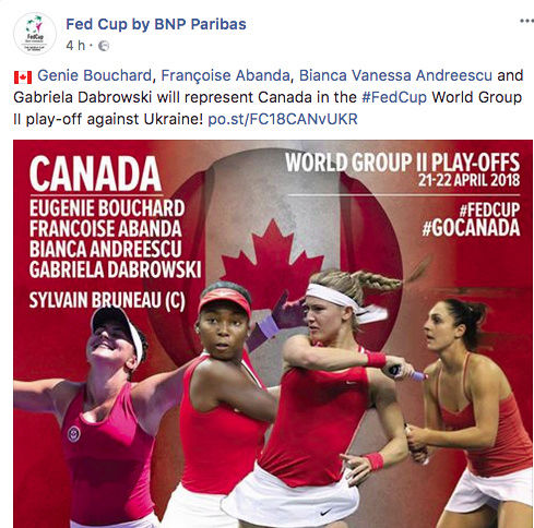 FED CUP 2018: Barrages World Group Captu150