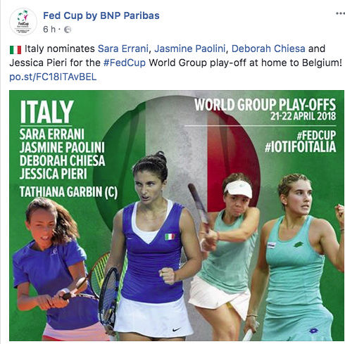 FED CUP 2018: Barrages World Group Captu153
