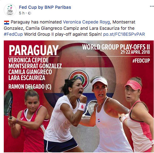 FED CUP 2018: Barrages World Group Captu154