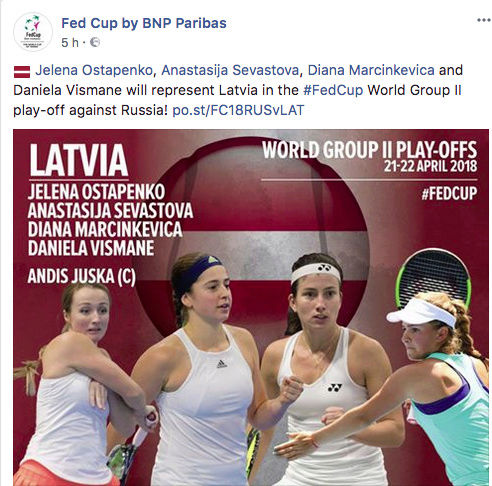 FED CUP 2018: Barrages World Group Captu155