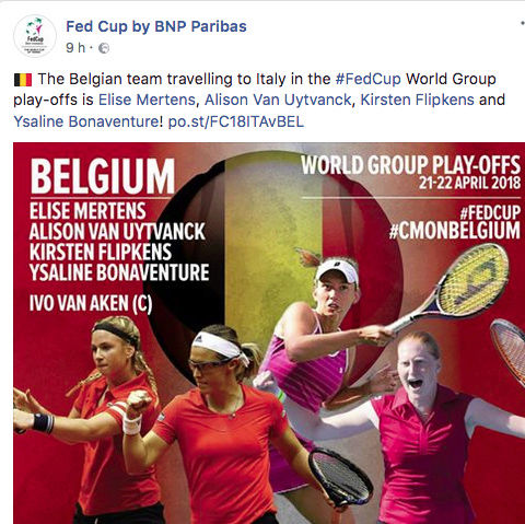 FED CUP 2018: Barrages World Group Captu161