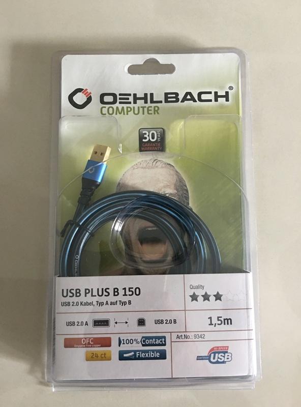 Oehlbach USB cable Img_7911