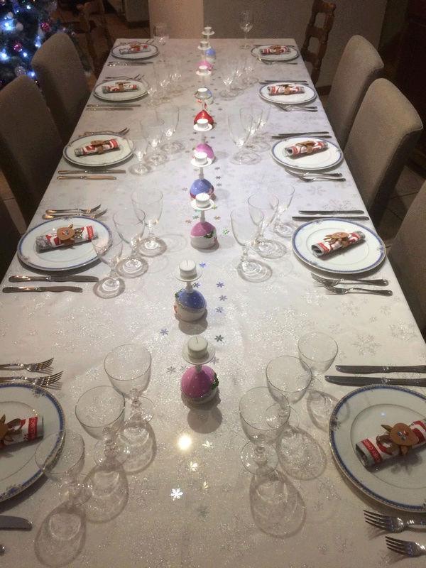 Déco de table Noël  Patoui16