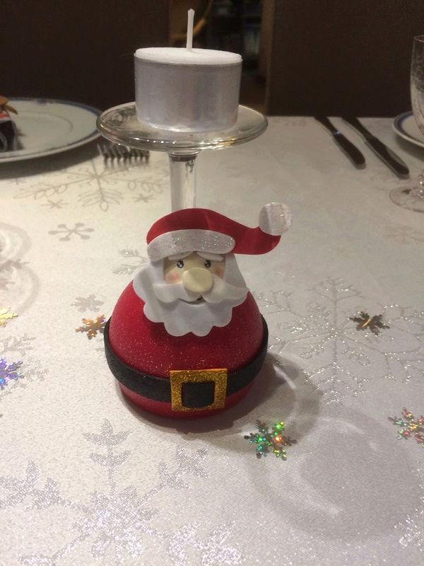 Déco de table Noël  Patoui19