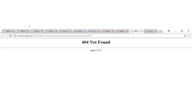 [#12271] Hiperligação da notificação do mail para o forum dá erro. diz 404 not found. Sem_ty17