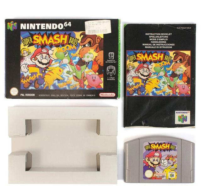 [EST] - Super Smash Bros 64 N64-su10