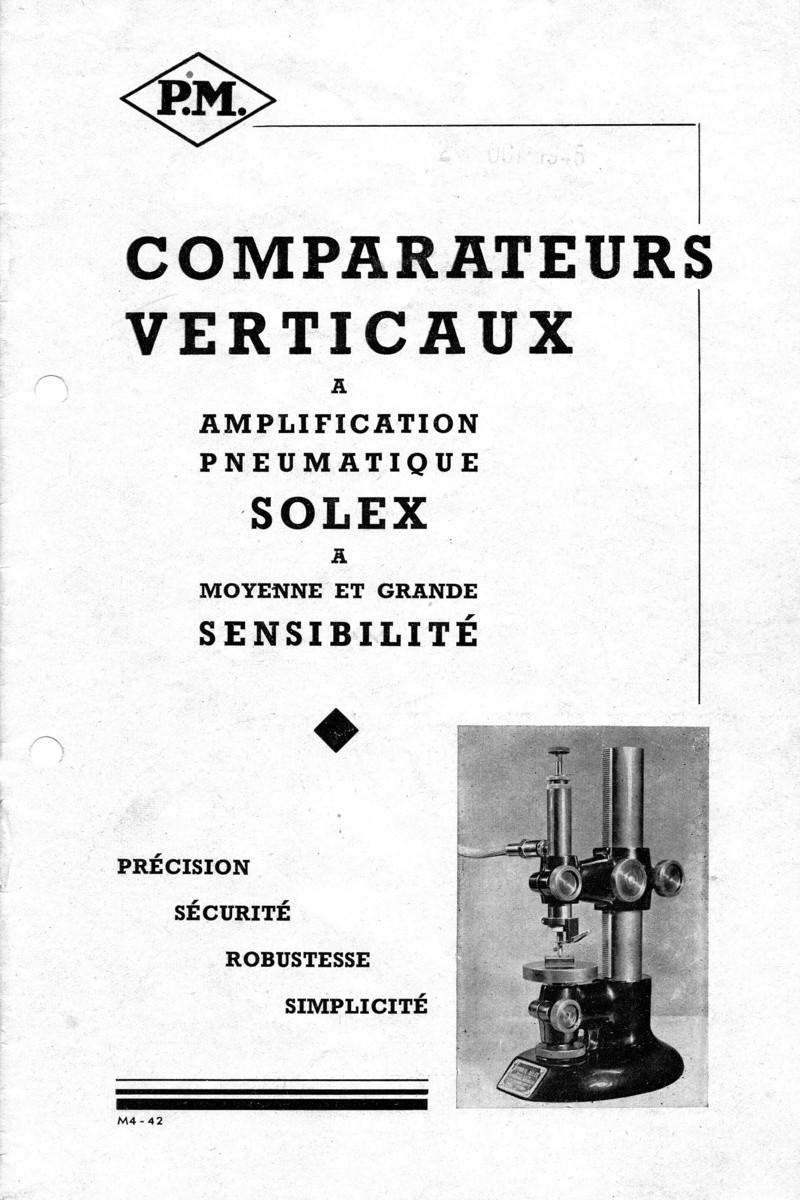 Vernier , Palmer et la métrologie 113