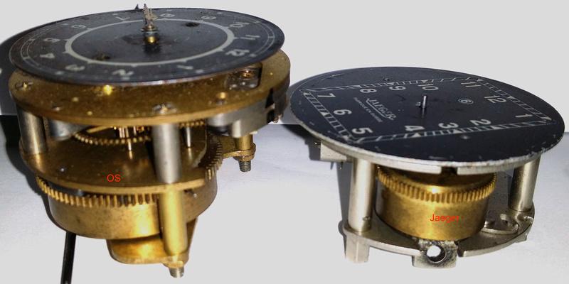 Instruments (montres) des tableaux de bord de 201 20171116