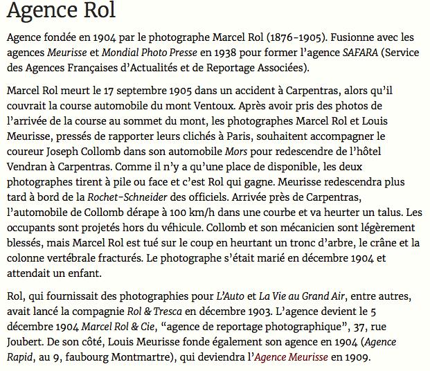 Photos d'époque - Page 6 Agence10
