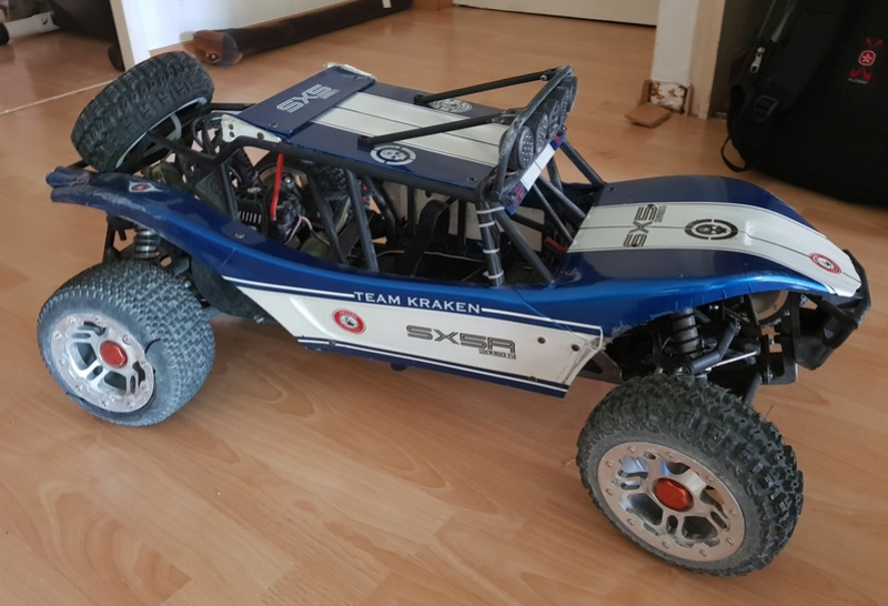 Ma Baja 5B convertie en Sidewinder 20180520