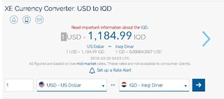 Guru chattels claims The market rate is improving for the Dinar against the dollar in Iraq.   2/17/18 Captur19