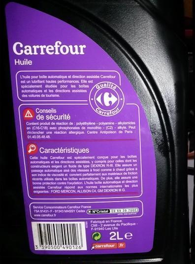 vidange boite de vitesse automatique Dexron13