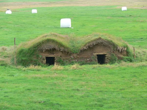 Дом из дёрна  Mol110
