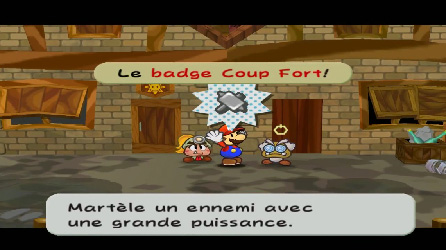 Paper Mario et la Porte Millénaire (Test Game Cube) Badge_10