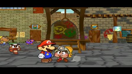 Paper Mario et la Porte Millénaire (Test Game Cube) Bisou110