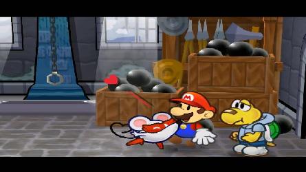Paper Mario et la Porte Millénaire (Test Game Cube) Bisou210