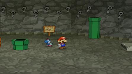 Paper Mario et la Porte Millénaire (Test Game Cube) Donjon10