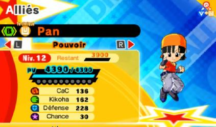 [TEST] Dragon Ball Fusions Pan110